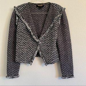 St. John Couture tweed blazer jacket Size 10
